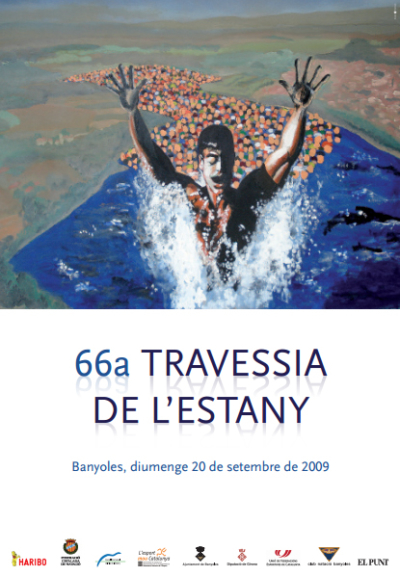 2009 Cartell 66a Travessia Estany Banyoles