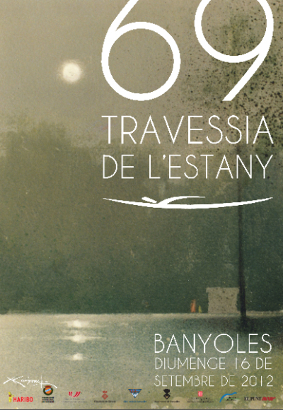 2012-Cartell-69a-Travessia-Estany-Banyoles